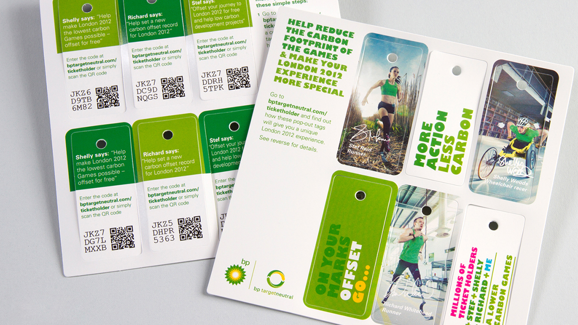 Landor at the Olympics BP activation at London Games