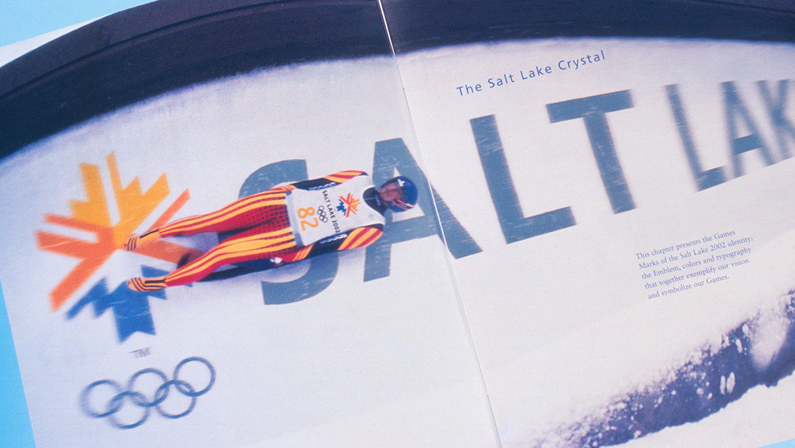 Landor at the Olympics Salt Lake City Identity