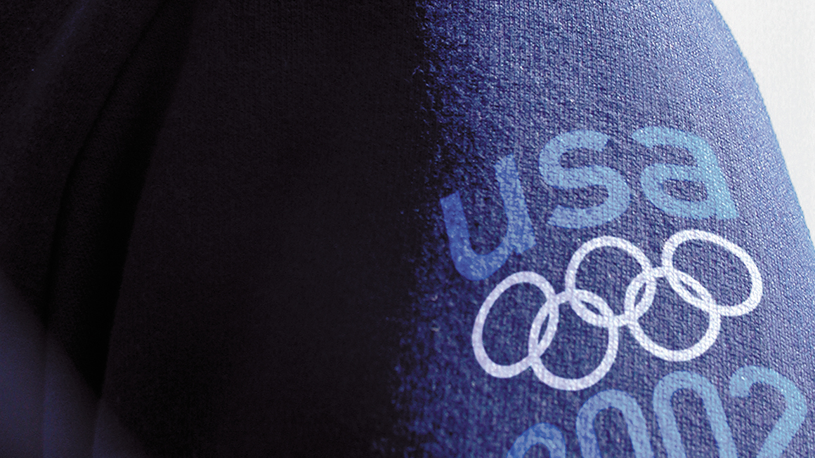 Landor at the Olympics 2002 Team USA Gear
