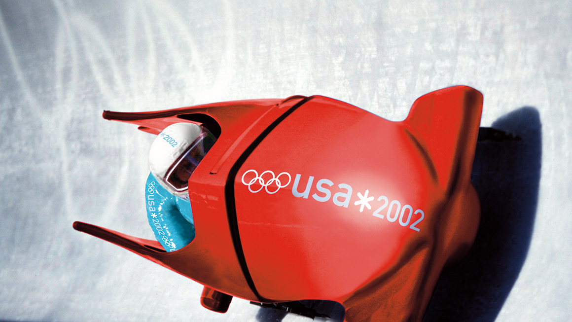 Landor at the Olympics 2002 Team USA Branding
