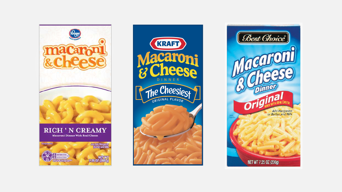 Kraft Macaroni & Cheese Competitive Brands