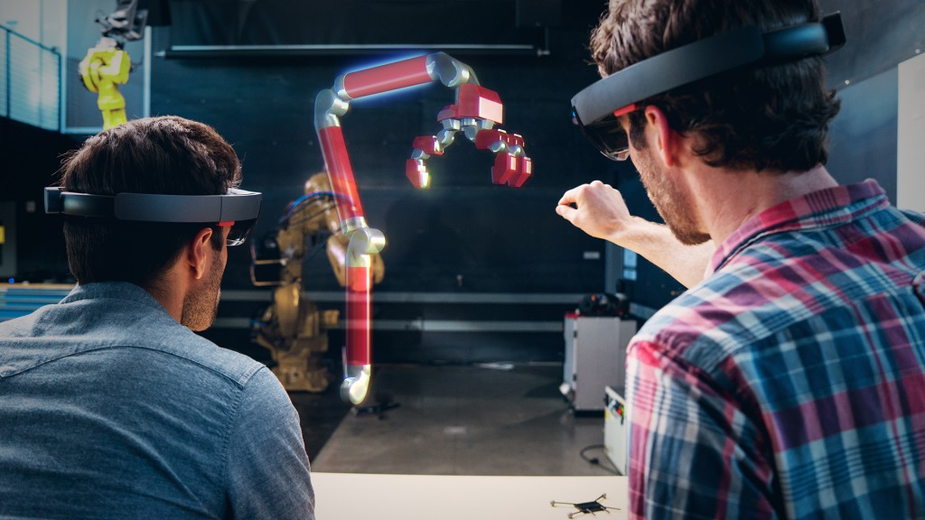 Microsoft Hololens trends 2017