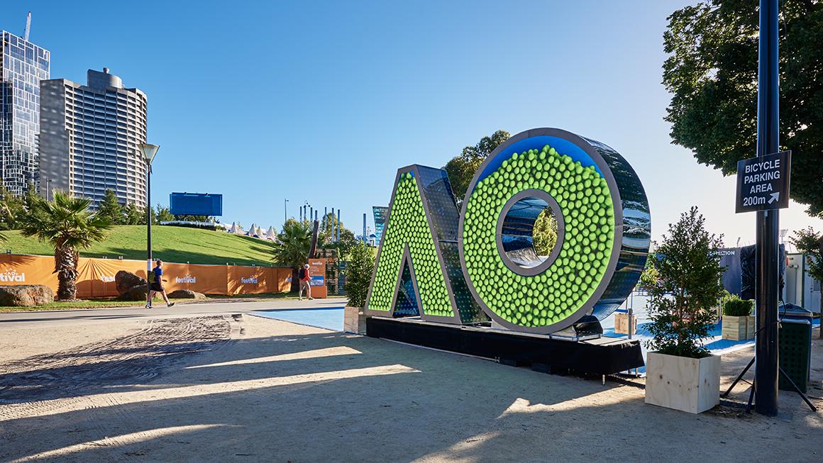 Australian Open installation