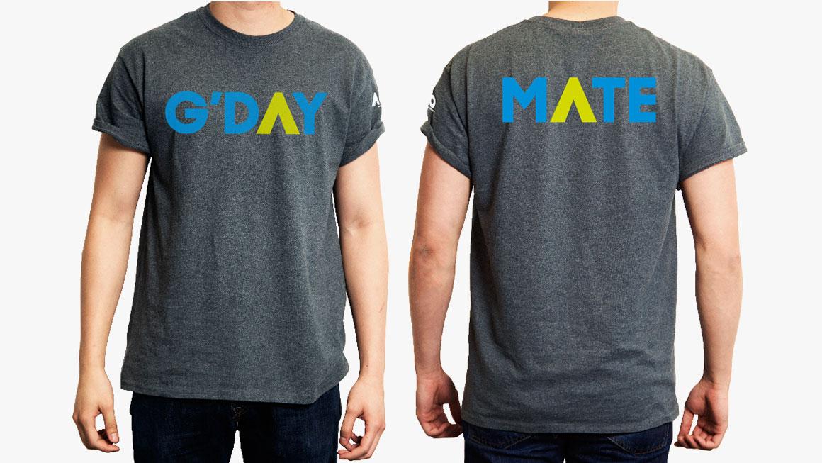 Australian Open t-shirt