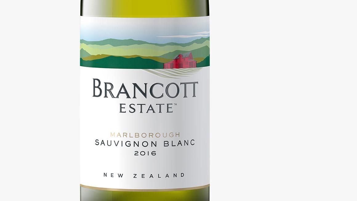 Brancott Estate bottle