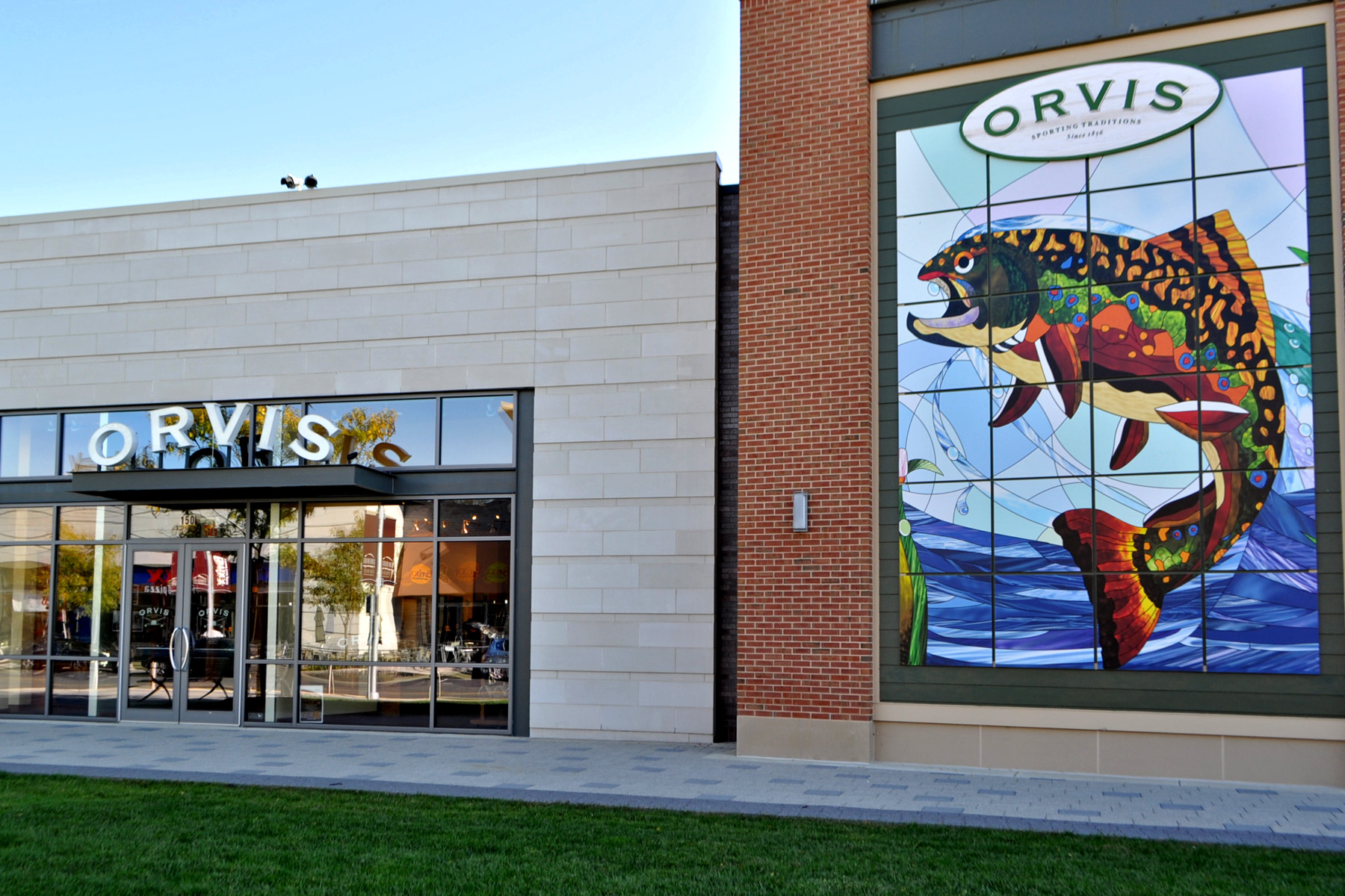Brand expansion Orvis storefront