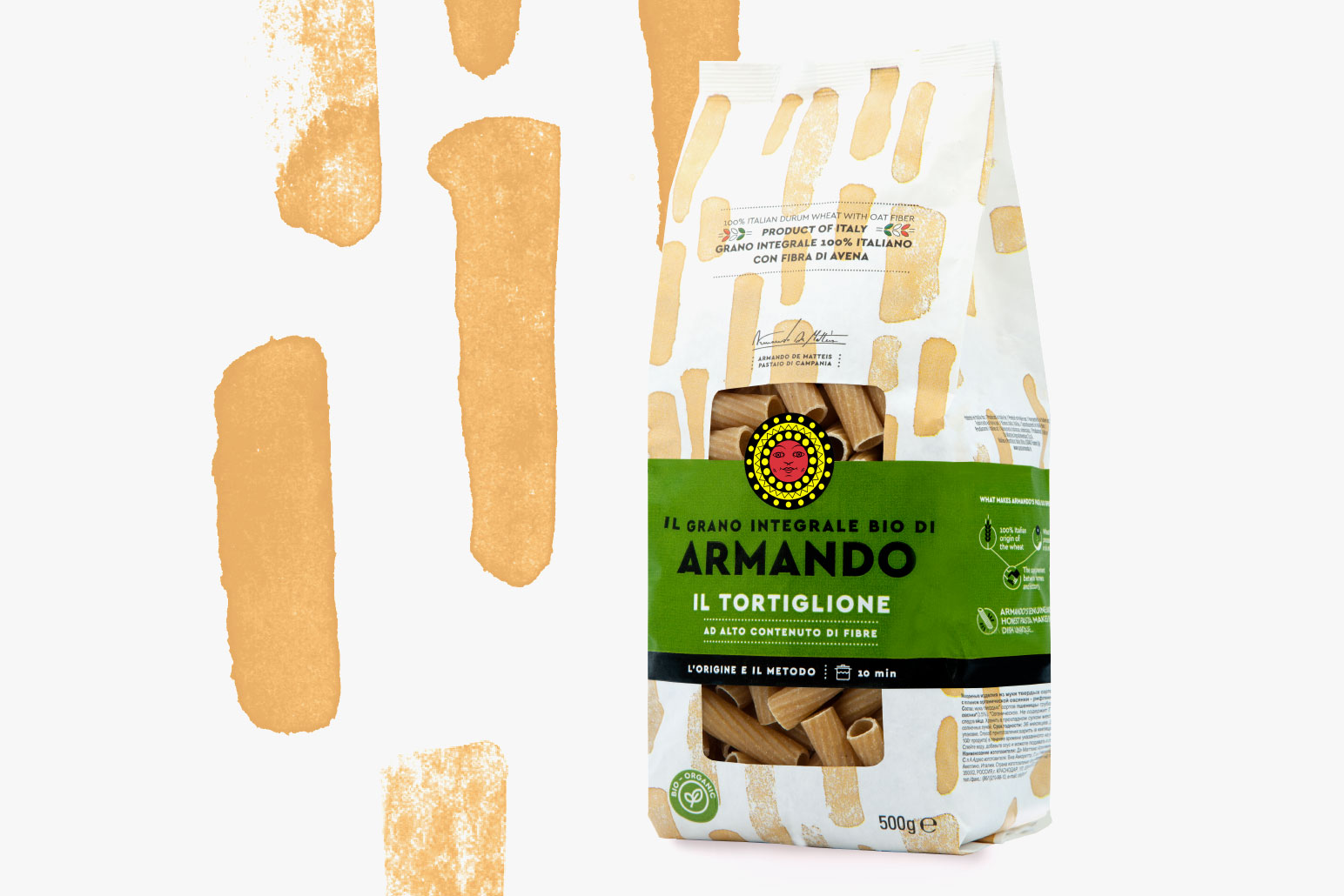 Pasta Armando packaging