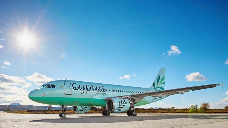 Cyprus Airways Livery