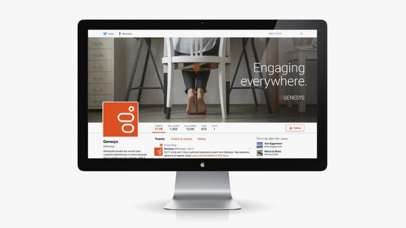 Genesys Digital Site On-Screen