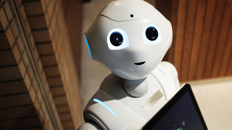 AI robot; Branding AI