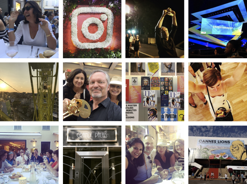 The Agency Adventures Collage of Cannes 2017