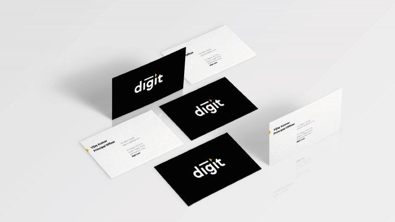 Digit business cards