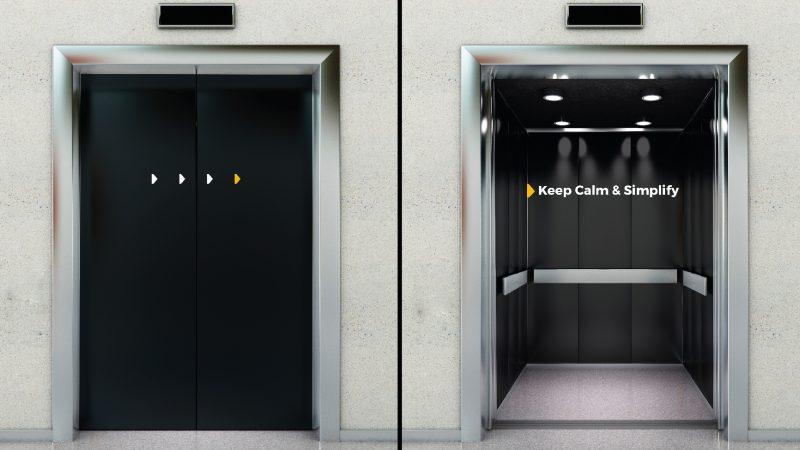 Digit lobby elevators