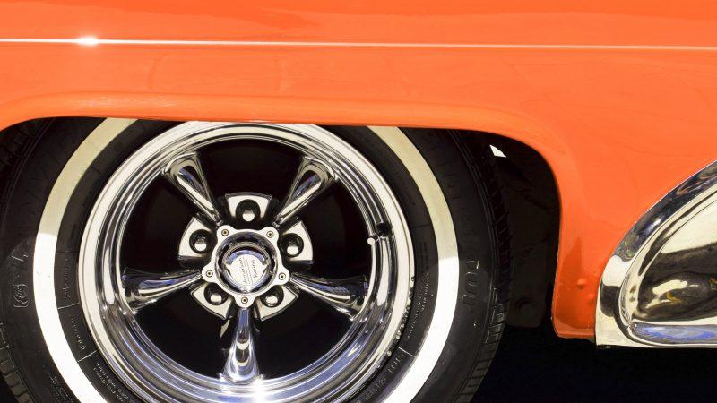 Close up of car body