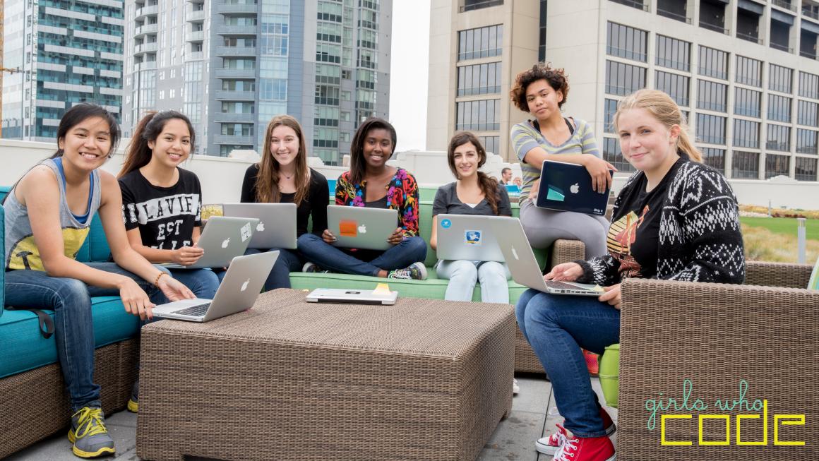 Nonprofit branding: Girls Who Code