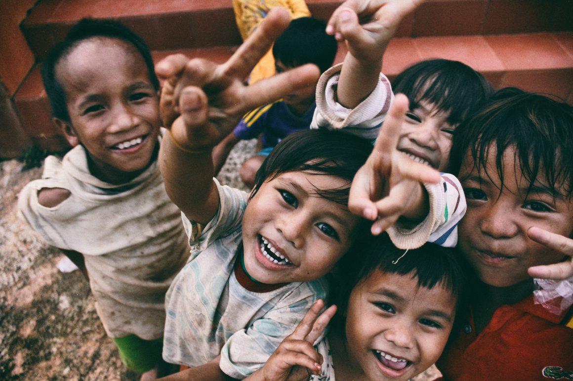Nonprofit branding: Children in Vietnam