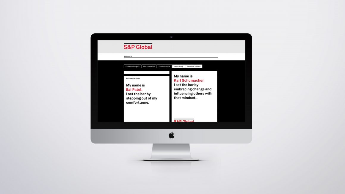 S&P Global Intranet