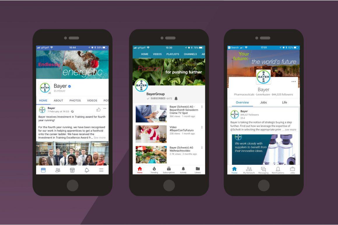 Bayer digital applications