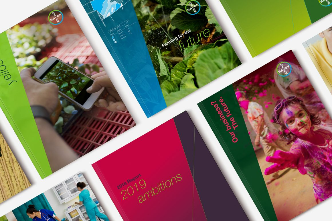 Bayer marketing collateral