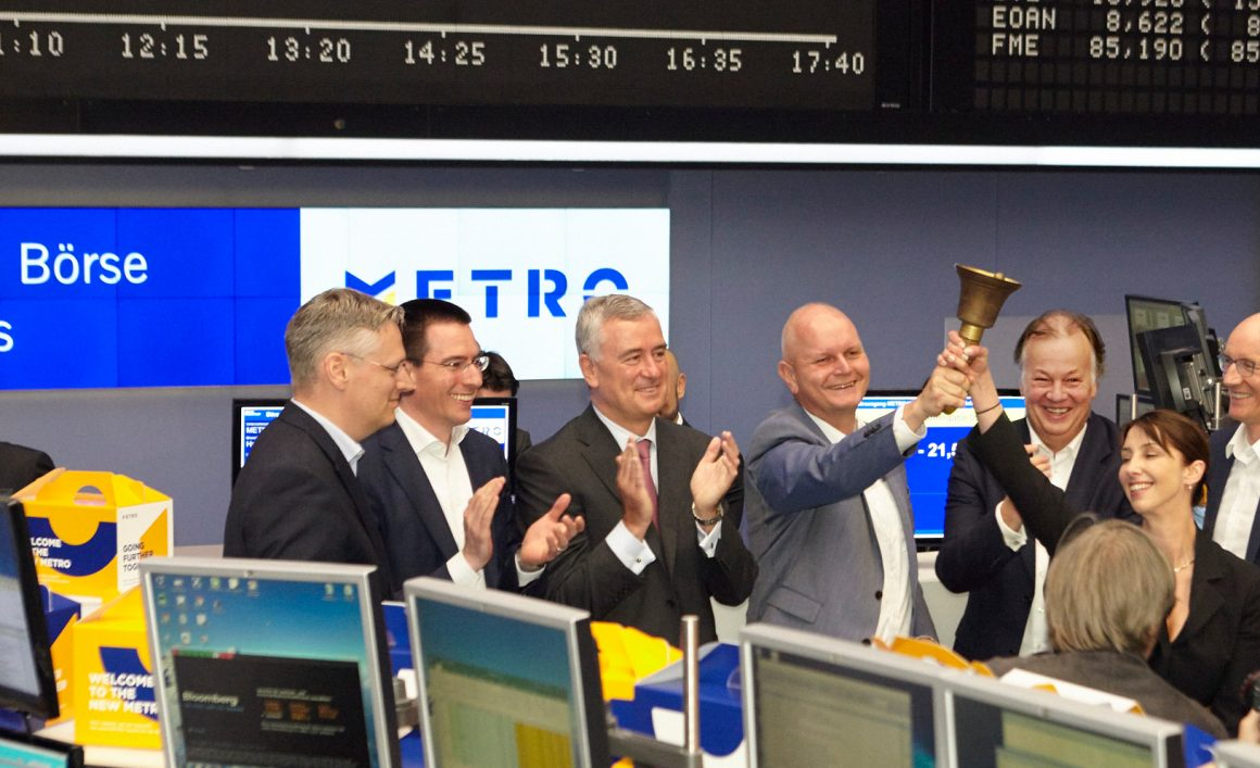 Metro launches at Frankfurt Stock Exchange