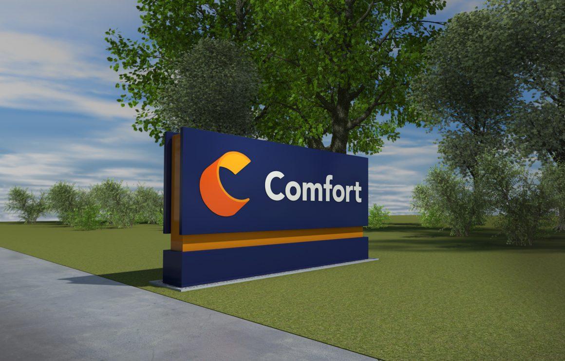Comfort sign