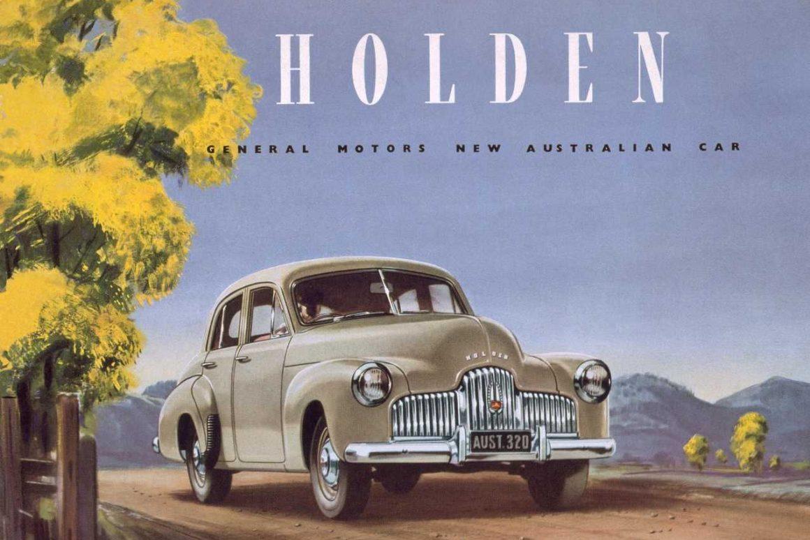 Car brand Holden original artwork