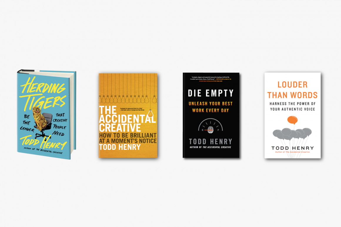 Todd Henry books