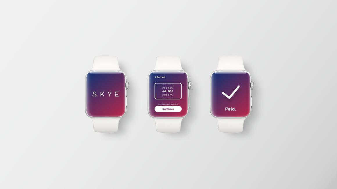 Skye Apple Watch app