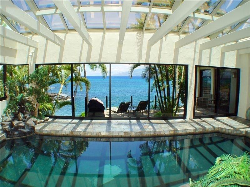 Maui Oceanfront Poolhouse photo