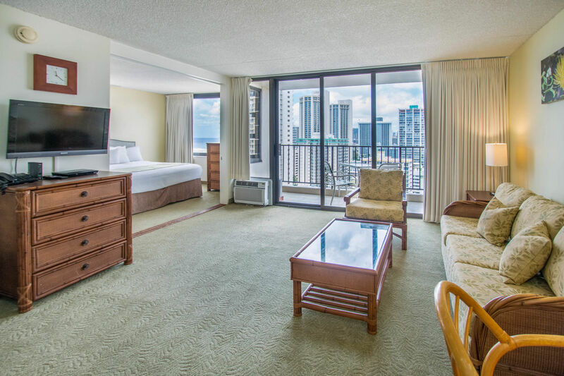 Waikiki Banyan Tower 1 Suite 2214