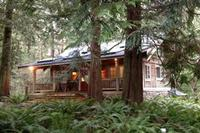 Cedar Cabin House-5 acres/Indoor Cedar Room with Soaking Tub photo