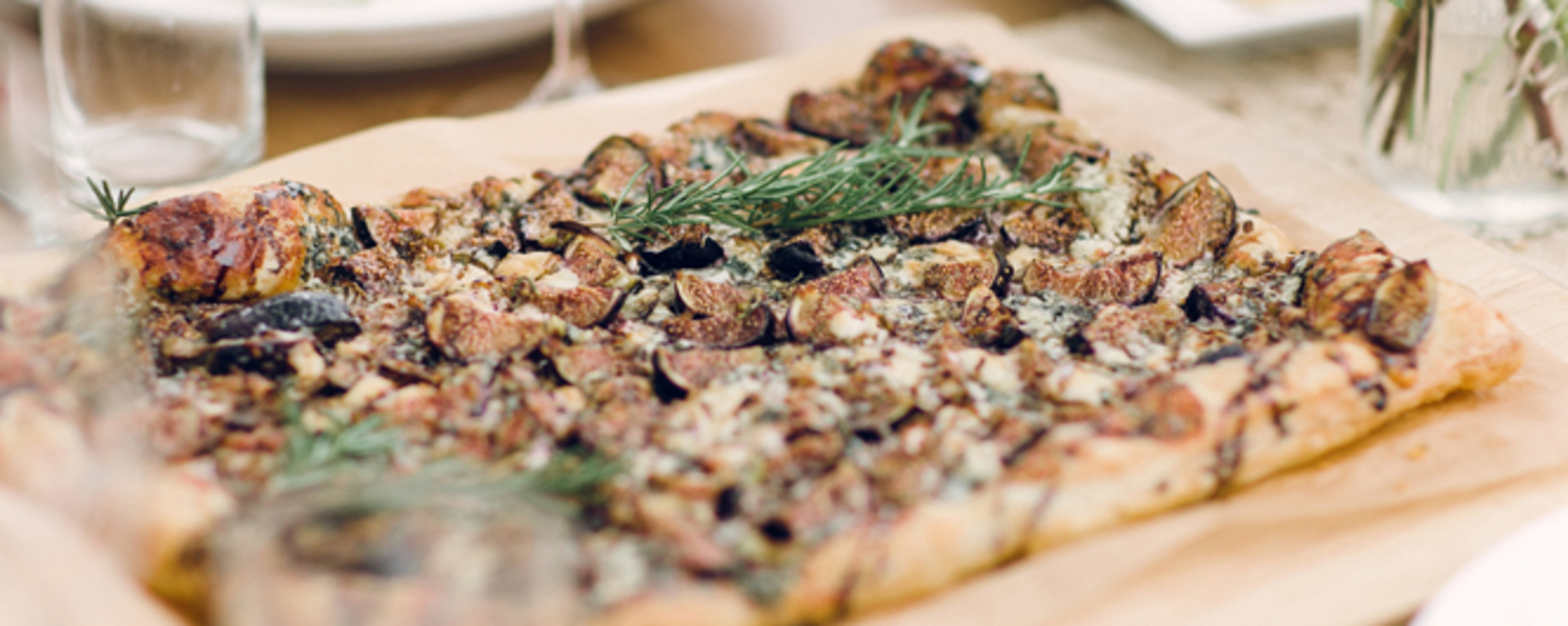 Fig and blue cheese tart web