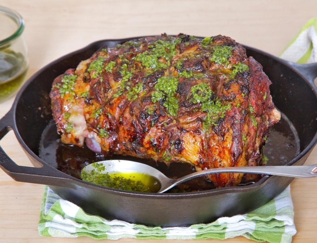Cast iron roasted lamb web