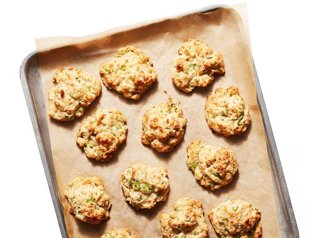 Celery gruyere biscuits rray