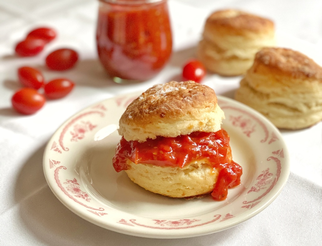 Easy burst tomato jam 2