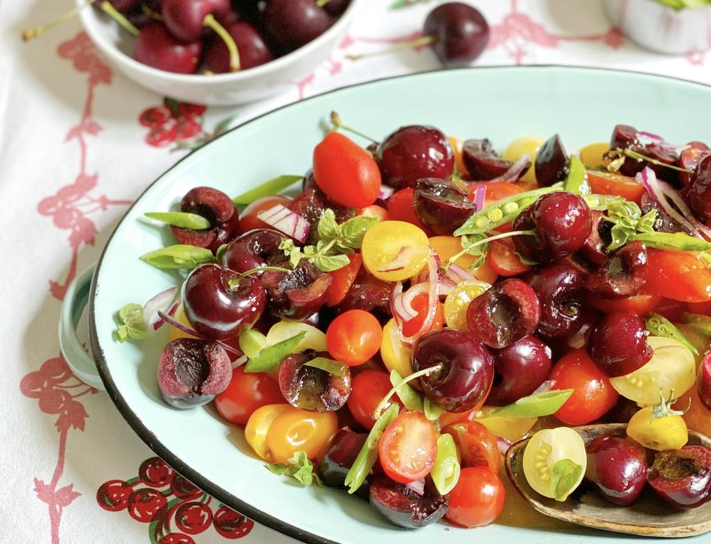 Cherry cherry tomato salad beauty