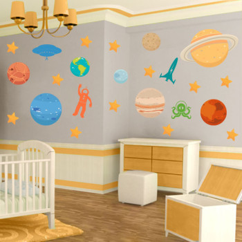 Space themed  murals