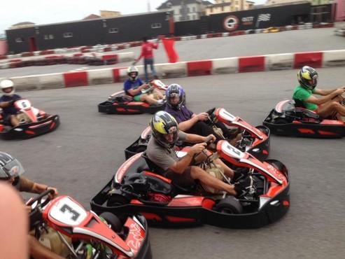 Go karting at get arena 780x585