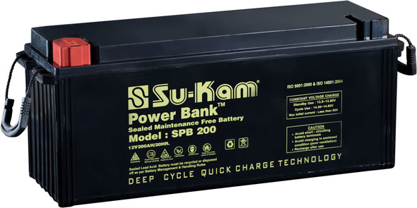Sukam smf battery  200ah