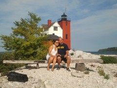 A retreat to Round Island Lighthouse Michigan