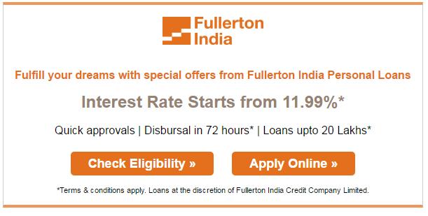 Fullerton loan details