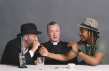 Spiritually Elevated Exchange: Rabbi, Priest and Atheist Get High