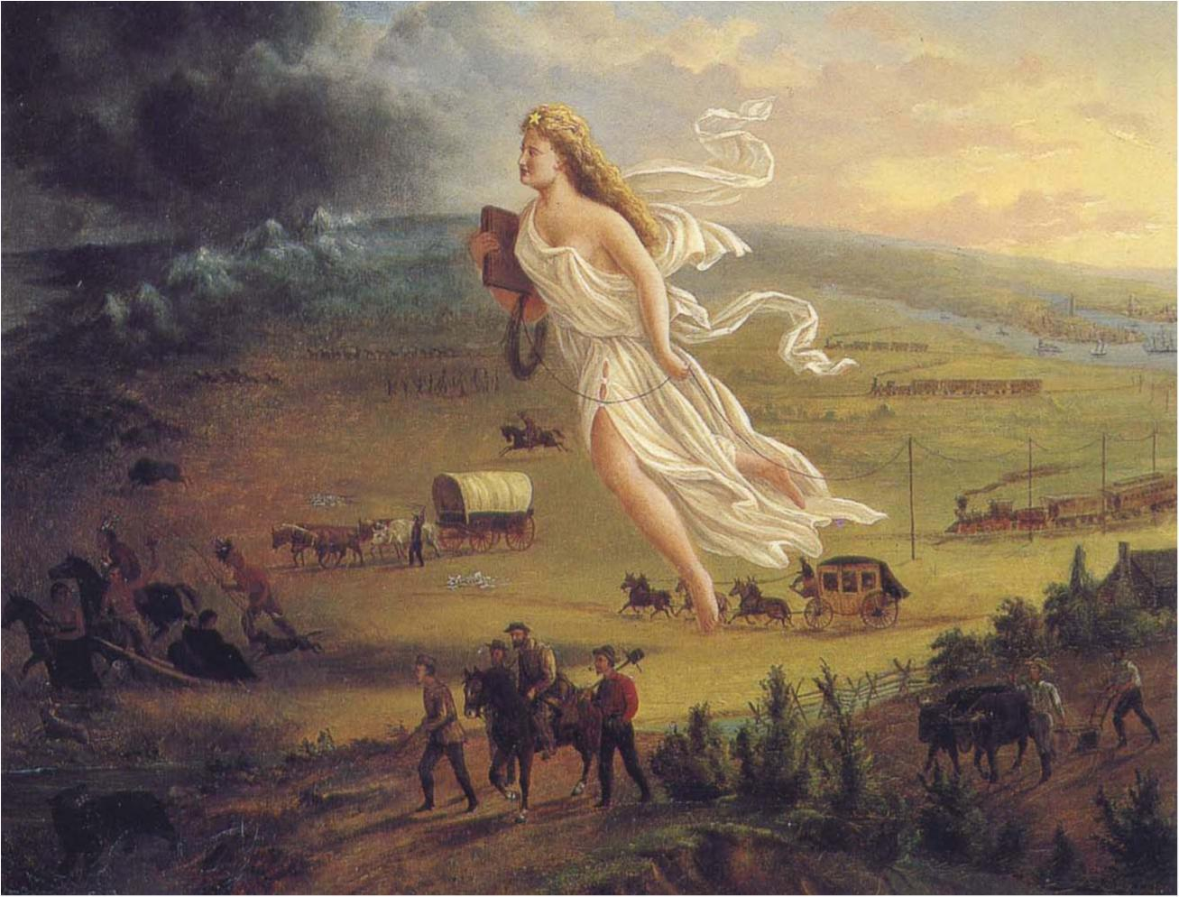 American Progress painted by John Gast (1872)