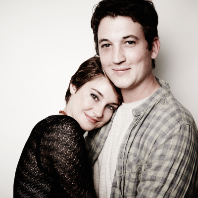 Shailene Woodley & Miles Teller (THE SPECTACULAR NOW) at SAG Foundation Conversations. Photo by Maarten de Boer.