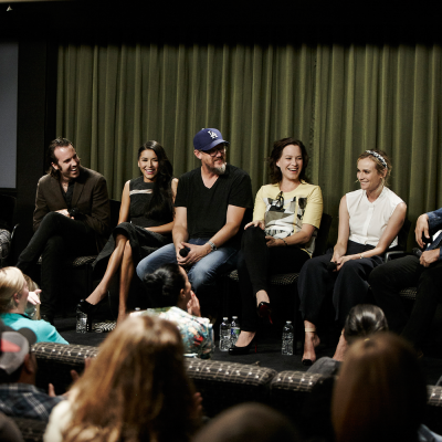 Cast of THE BRIDGE at SAG Foundation Conversations