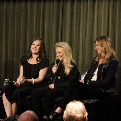 Virginia Kull, Jacki Weaver & Anna Gunn (GRACEPOINT) at SAG Foundation Conversations