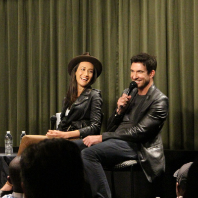 Maggie Q & Dylan McDermott (STALKER) at SAG Foundation Conversations