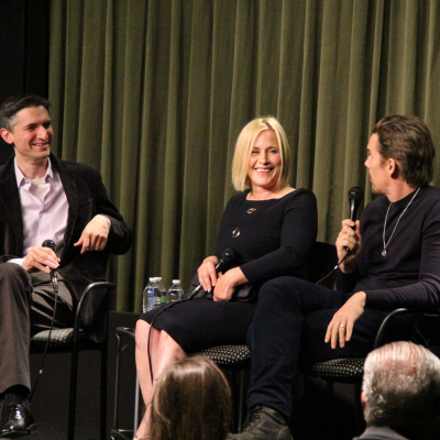 Patricia Arquette & Ethan Hawke (BOYHOOD) at SAG Foundation Conversations.