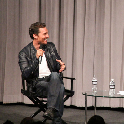 Matthew McConaughey (DALLAS BUYERS CLUB) at SAG Foundation Conversations