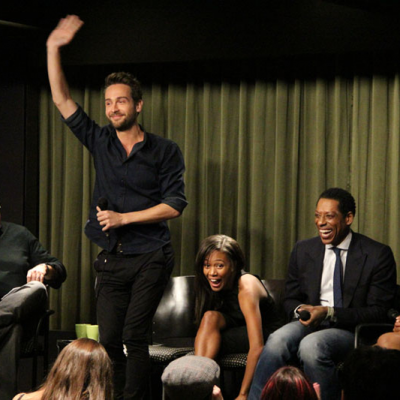 Tom Mison, Nicole Beharie, Orlando Jones & Lyndie Greenwood (SLEEPY HOLLOW) at SAG Foundation Conversations